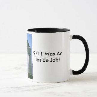 9/11中仕事はありました! マグカップ