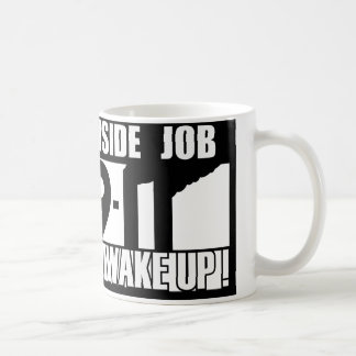 9-11中仕事は- 911真実、trutherを目覚めます コーヒーマグカップ