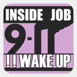 9-11中仕事は- 911真実、trutherを目覚めます スクエアシール
