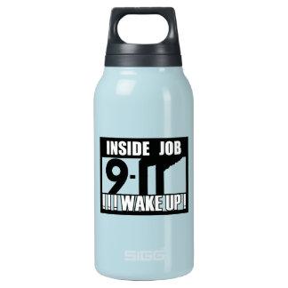 9-11中仕事は- 911真実、trutherを目覚めます 断熱ウォーターボトル