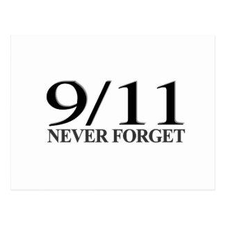 9/11決して忘れないで下さい ポストカード