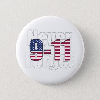 9-11決して忘れないで下さい 缶バッジ