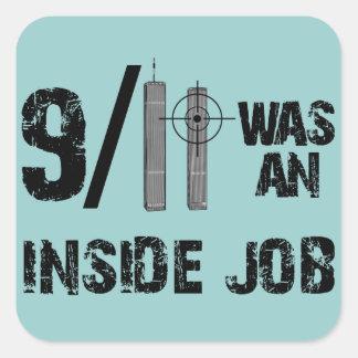 9-11真実の公式の物語のうそ スクエアシール