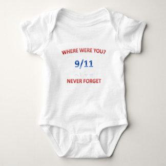 9/11/2001 ベビーボディスーツ