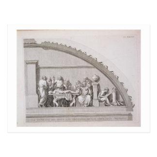 「Aからのヒポクラテス(紀元前のc.460 BC-c.377)の教授、 ポストカード