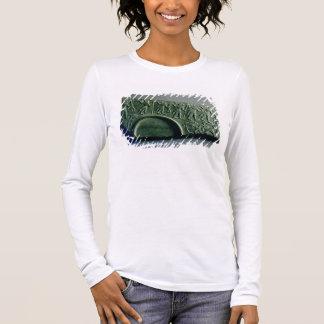Aからの狩り場面のパレットの片、 長袖Tシャツ