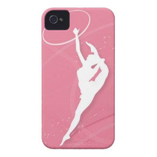 aと行っているメスの体育専門家のシルエット Case-Mate iPhone 4 ケース