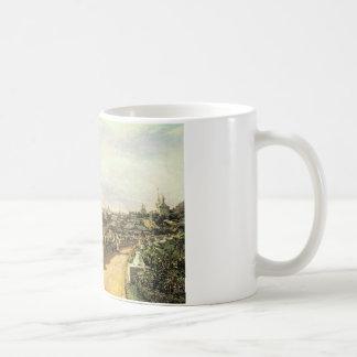 AによるG.I. Chludovの家からのモスクワの眺め コーヒーマグカップ