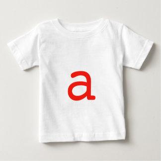 aに文字を入れて下さい ベビーTシャツ