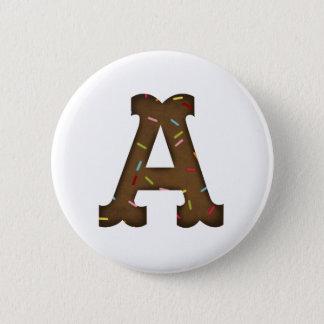 Aに文字を入れて下さい 5.7CM 丸型バッジ