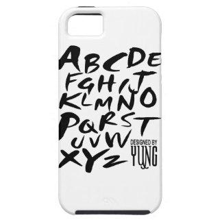 AにZのアルファベット手紙の電話箱 iPhone SE/5/5s ケース