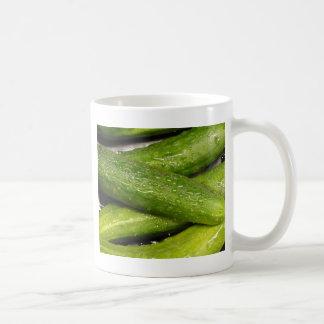 Aのきゅうりとしてカッコいい コーヒーマグカップ