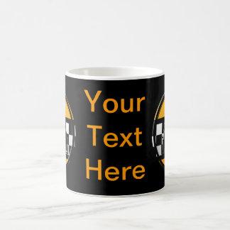Aのタクシー運転手に署名して下さい コーヒーマグカップ