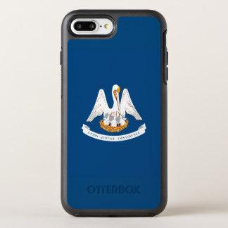 aの動的ルイジアナの州の旗のグラフィック オッターボックスシンメトリーiPhone 8 plus/7 plusケース