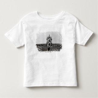 aの後のStraの別荘Pisaniの迷路、 トドラーTシャツ