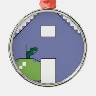 Aはりんごのためです メタルオーナメント
