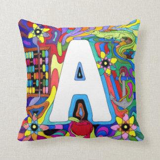 Aはアルファベットおよび原子のためです クッション