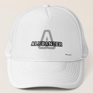 Aはアレキサンダーのためです キャップ