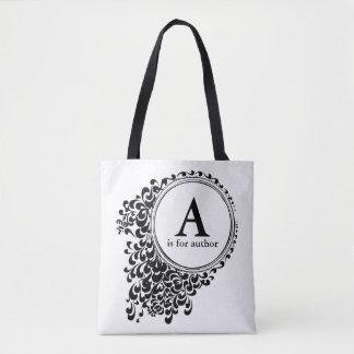 Aは作家のためです(カスタマイズ可能な) トートバッグ