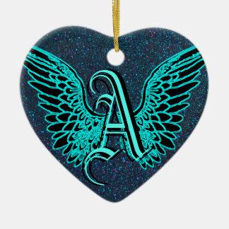 Aは天使のためです セラミックオーナメント