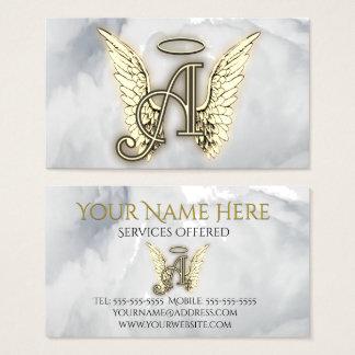 Aは天使のアルファベットの手紙のイニシャルのためです 名刺