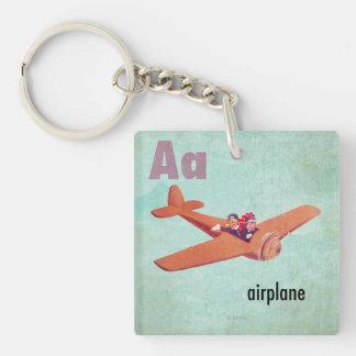 Aは飛行機のためです キーホルダー