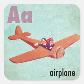 Aは飛行機のためです スクエアシール