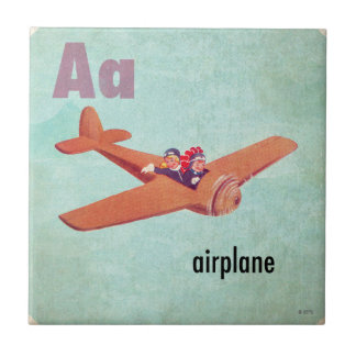 Aは飛行機のためです タイル