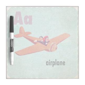 Aは飛行機のためです ホワイトボード