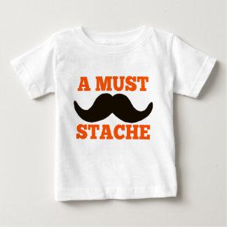 AはSTACHEなります ベビーTシャツ