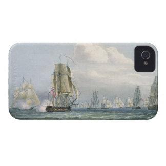aを従事させるシドニースミス(1764-1840年の)艦隊 Case-Mate iPhone 4 ケース