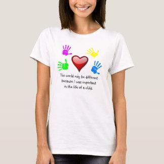 A0001. 私はLife.Shirt.1の違いを生じました Tシャツ