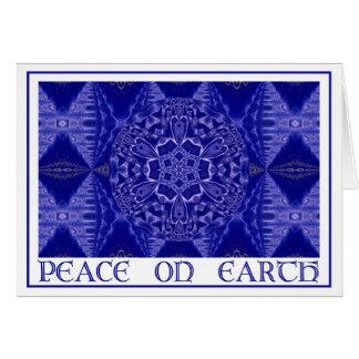 A001雪片Mandala.Blue.Card 1 カード