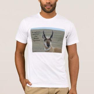 A0030 Pronghornのカモシカの木びき台 Tシャツ