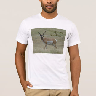 A0033 Pronghornのカモシカの大金 Tシャツ