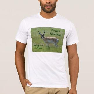 A0036 Pronghornのカモシカの木びき台 Tシャツ