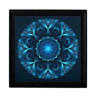 A01. 真夜中の青い曼荼羅はBox.1をタイルを張りました ギフトボックス
