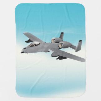 A10軍隊はイラストレーションを平にします ベビー ブランケット