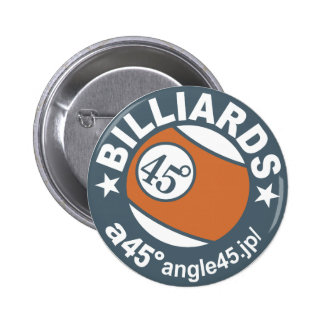 a45 Billiards! 5.7cm 丸型バッジ