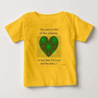 """A63必要なもの- """"宇宙の子供 ベビーTシャツ"""