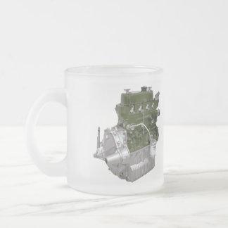 A+ シリーズデザインのマグ フロストグラスマグカップ
