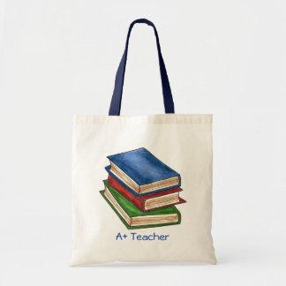 A+ 先生の司書の図書館はギフトのランドセルを予約します トートバッグ