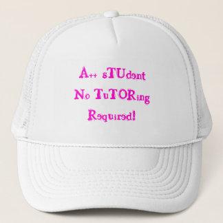 A++ 学生個別指導の必須の白い帽子無し キャップ