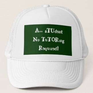 A++ 学生個別指導の必須の緑及び白無し キャップ