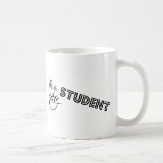 A+ 学生 コーヒーマグカップ
