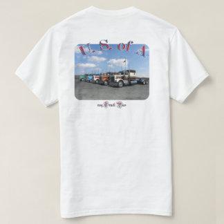 A (空白のな前部)の米国 Tシャツ