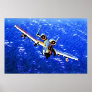 A-10 WHARTのブタ ポスター