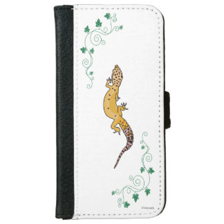 A Beautiful Gecko iPhone 6/6s ウォレットケース