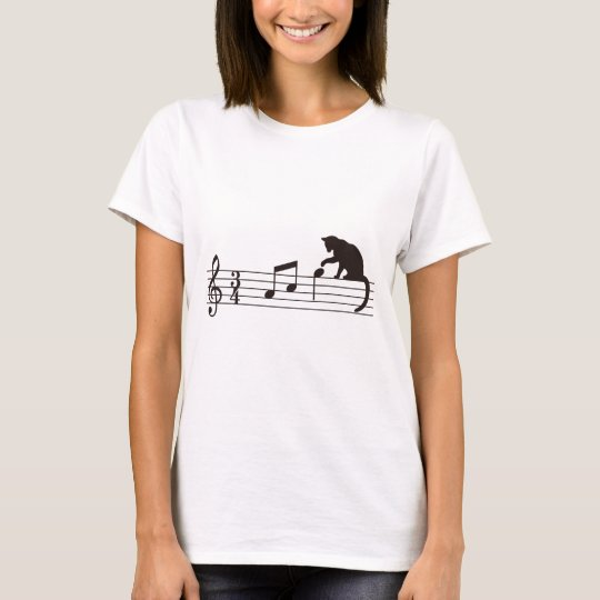 A Cat Toying with Notes Tシャツ
