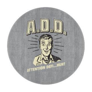 A.D.D.: 注意Defi…ハァッか。 カッティングボード
